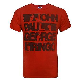 Junk Food Beatles Noms Men-apos;s T-Shirt