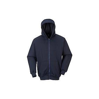 Portwest fr zip front Hooded Sweatshirt fr81