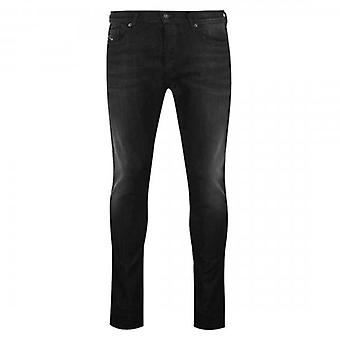Diesel D-Luster Slim Stretch Dżinsy czarne pranie dżinsy 0095K