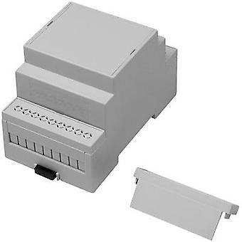 Carril DIN AXXATRONIC CNMB-3-KIT-CON carcasa 90 x 53,0 x 58 policarbonato (PC) 1 PC