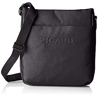 Picard Hitec Black Women's Shoulder Bag (Schwarz) 4x24x21 centimeters (B x H x T)