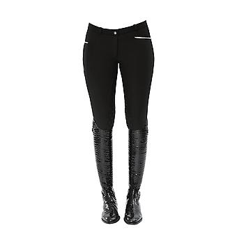 Spooks Leena Womens Thermal Full Grip Breeches - Black