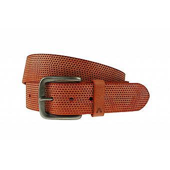 Luxus Gürtel mit Boxen in Orange Farbe