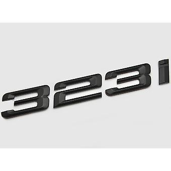Matt Black BMW 323i Car Model Rear Boot Number Letter Sticker Decal Badge Emblem For 3 Series E36 E46 E90 E91 E92 E93 F30 F31 F34 G20