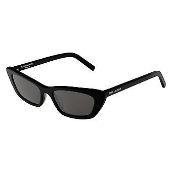 Saint Laurent SL 277 001 Black/Grey Sunglasses