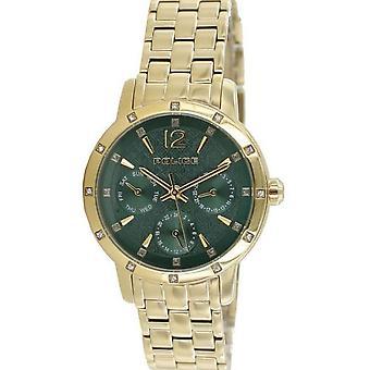 Police Damen Uhr Armbanduhr Edelstahl Analog golden Glare PL14872BSG.D19M