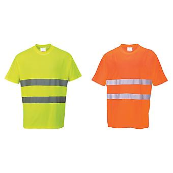 Portwest Cotton Comfort Reflective Safety T-Shirt