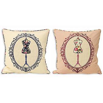 Riva Home Victoria Mannequin Cushion Cover