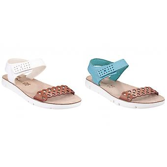 Fantasy Womens/Ladies Agios Contrast Open Toe Sandals