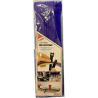 FASTECH® E1-2-131-B10 Koukku- ja silmukkakaapelisolmio koukku- ja silmukkatyyny (L x W) 200 mm x 13 mm Sininen 10 kpl