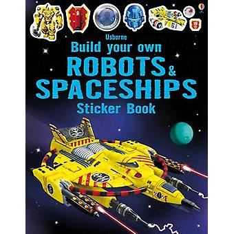Build Your Own Robots and Spaceships Sticker Book by Simon Tudhope -