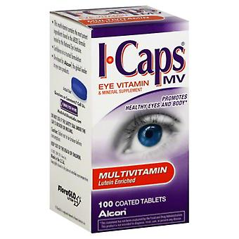 Icaps lutein enriched eye multivitamin, tablets, 100 ea