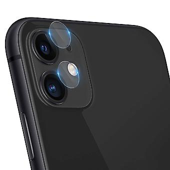4 Camera Lenses Screen Protector for iPhone 11 9H Tempered Glass - iMak, Clear