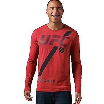 Reebok Ufc Fan Long Sleeve AO2328 universal all year men t-shirt