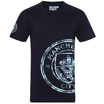 Manchester City FC Official Football Gift Kids Graphic T-Shirt