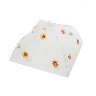 Epicurean Orange Flower Large Food Umbrella
