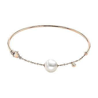 Luna-Pearls Arm Jewelry Pearl Bracelet Rose Gold 750 Freshwater Breeding Pearl 8.5-9mm