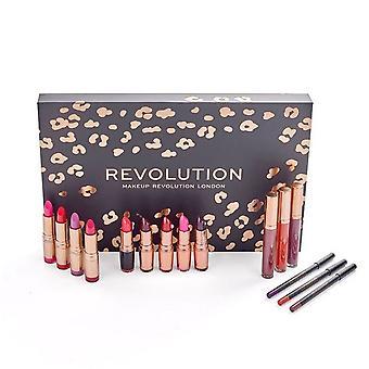 Giftset make-up revolutie lip revolutie rood