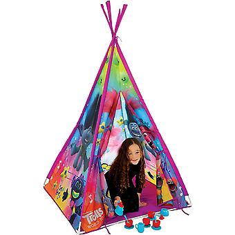 Dreamworks trolls world tour teepee play tente mv sports ages 3 years