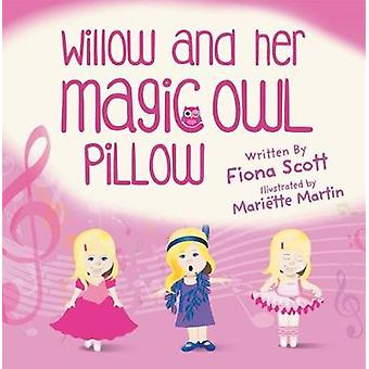 Willow and Her Magic Owl Pillow by Scott & Fiona