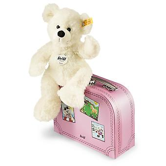 Steiff Lotte Teddy Bear In Suitcase White