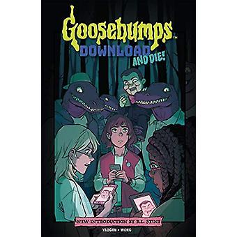 Goosebumps - Download And Die! by Jen Vaughn - 9781684053223 Book