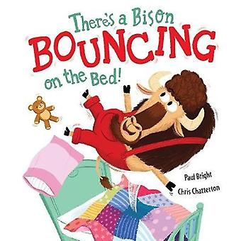 Theres a Bison Bouncing on the Bed by Paul Bright & Illustrated by Chris Chatterton