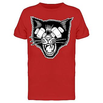 Black And White Cartoon Blind Tee Men's -Image by Shutterstock