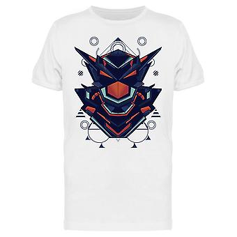Robot Head Geometry Style Tee Men's -Kuva Shutterstockilta