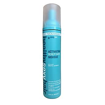 Healthy Sexy Hair Activating Scalp Care Mousse Thinning Treatment 6.8 OZ