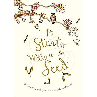 It Starts With A Seed by Laura Knowles - 9780711244078 Book