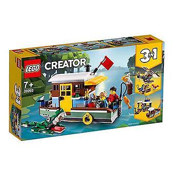 Playset Creator Riverside Houseboat Lego 31093