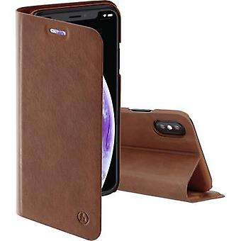 Hama Guard Case Pro Booklet Apple iPhone XS Brown