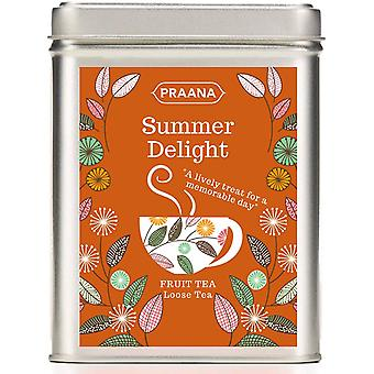 Té de Praana - Summer Delight Fruit Infusion Tisane - Regalo Tin -100g