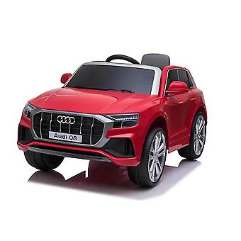 licensed audi q8 12v kids electric ride on car with remote control red