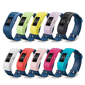 Sleeve Case Band Wrap Cover Protective For Fitbit Charge 2[Slate] BUY 2 GET 1 FREE