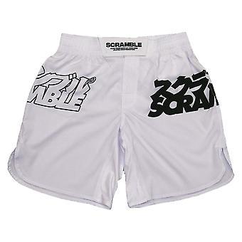 Scramble Core Grappling Shorts Weiß