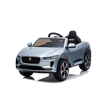 licenced land rover jaguar i-pace grey kids electric ride on car one seater