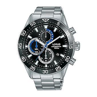 Lorus Sports Watch RM335FX9 - Stainless Steel Gents Quartz Chronograph