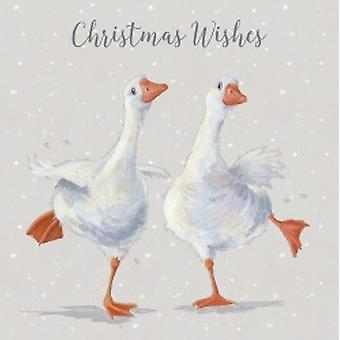 Wrendale Dancing On Ice Christmas Cards | Gifts From Handpicked