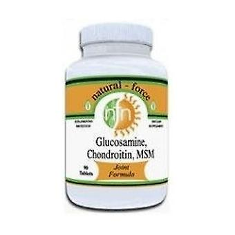 Glucosamine + Chondroitin + Msm 90 tablets
