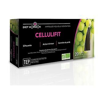 ORGANIC Cellulifit 20 ampoules
