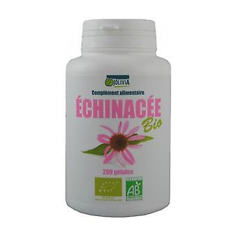 Biologische Echinacea 200 plantaardige capsules van 210 mg
