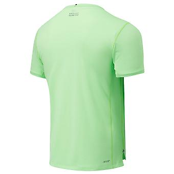 New Balance Mens Impact Run SS Breathable Lightweight Quick Dry T-Shirt