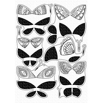 """My Favorite Things Clear Stamps 6""""X8"""" - Brilliant Butterflies"""