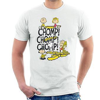 Pinda's Chomp mannen T-Shirt