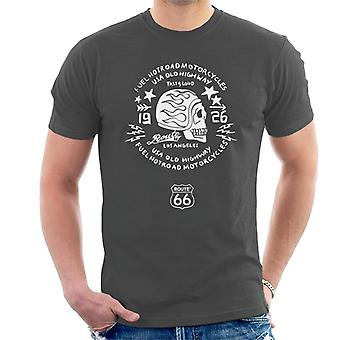Route 66 USA Old Highway Motorcycles Men's T-Shirt