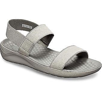 Crocs Womens LiteRide Peep Toe Casual Ankle Strap Sandals