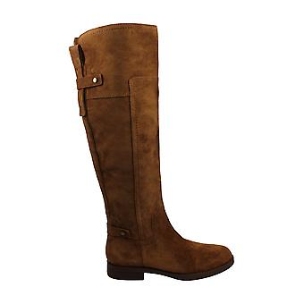 Franco Sarto Womens Suede Pointed Toe Knee High Fashion Boots