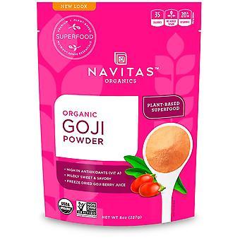 Navitas Organics, Organic Goji Powder, 8 oz (227 g)